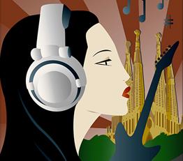 Giulia Mangiafico Primavera Sound Poster