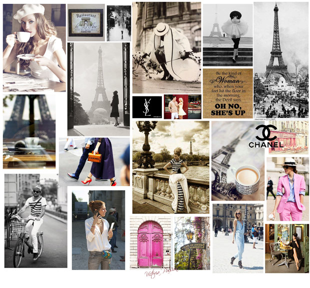 Moodboard Paris