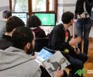 Gli allievi del Master in Grafica e Web Design  nella simulazione di lavoro