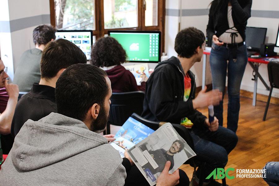 Momenti in aula durante il Workshop