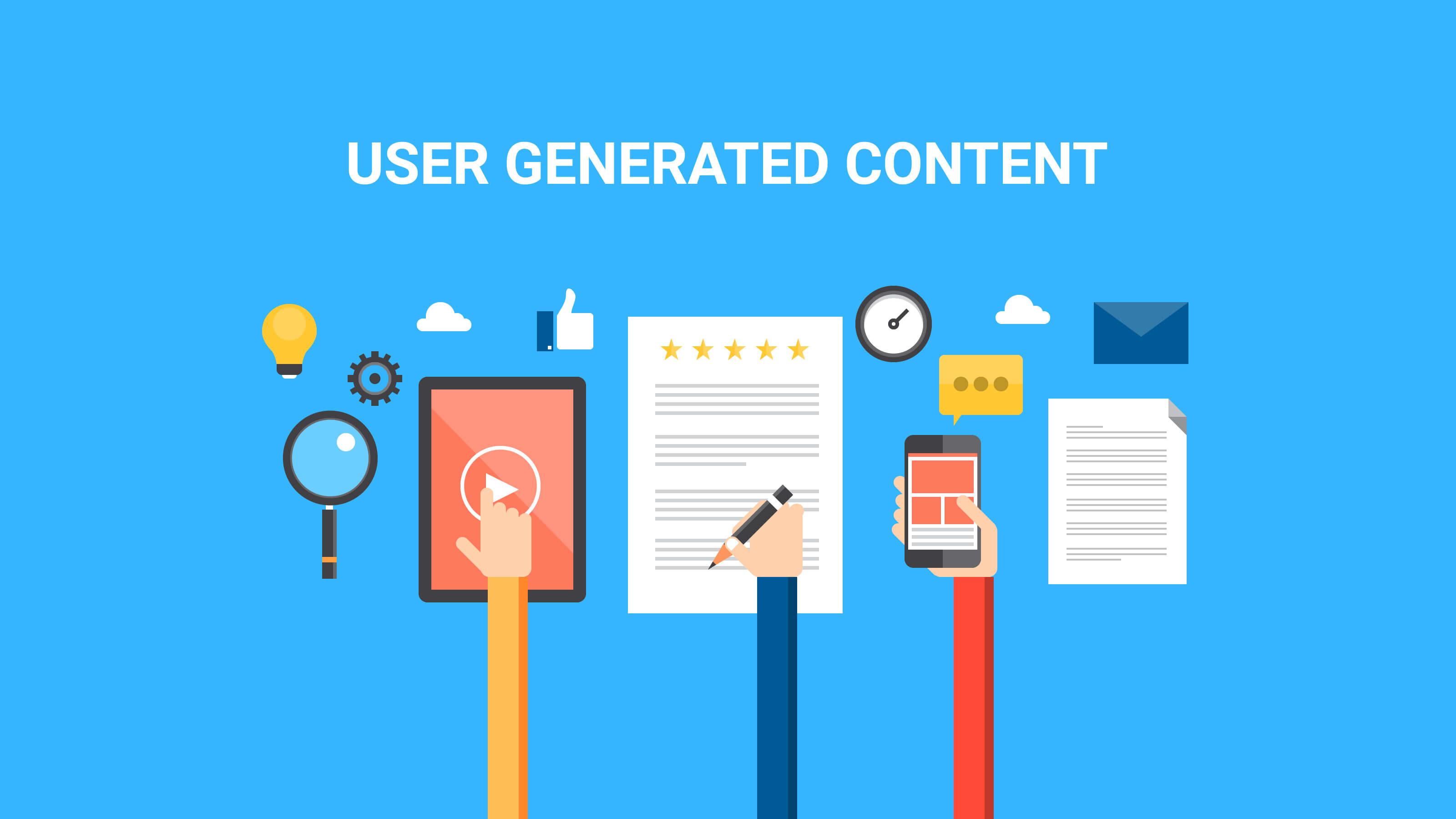 UGC (User Generated Content)