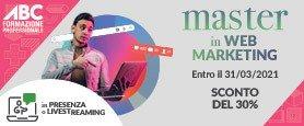 Master in Web Marketing
